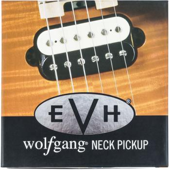 EVH Wolfgang Neck Pickup Black-White Pastilla para Mástil