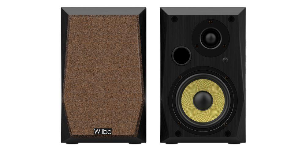 wiibo neo50 v2 black altavoces estanteria hifi oferta