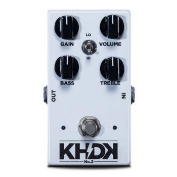 KHDK No 2 Pedal Booster Para Guitarra