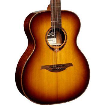 LAG T118A-BRS Guitarra Acustica Auditorium Tramontane 118 Brown Shadow