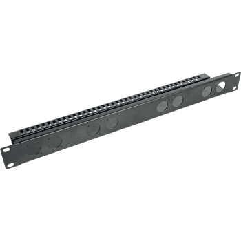 Quik Lok RS-293 Panel Rack 1U + Barra de Soporte