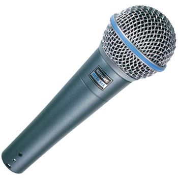 Shure Beta 58A Micrófono dinámico voces