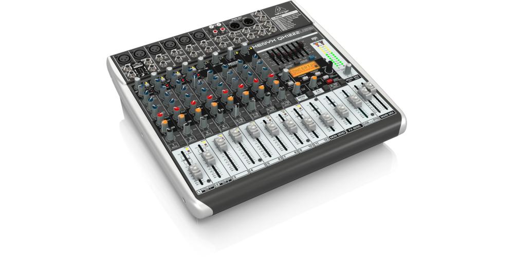 behringer QX1222USB xenyx mezclador directo