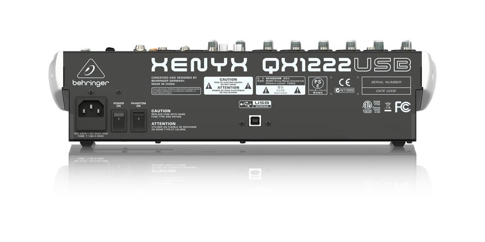 behringer QX1222USB xenyx mezclador