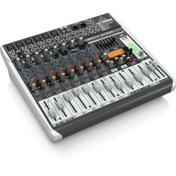 BEHRINGER QX1222USB XENYX Mezclador para Directo QX-1222 USB