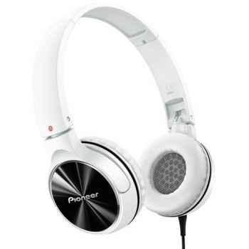 PIONEER SE-MJ532-W Auriculares Cerrados Blancos