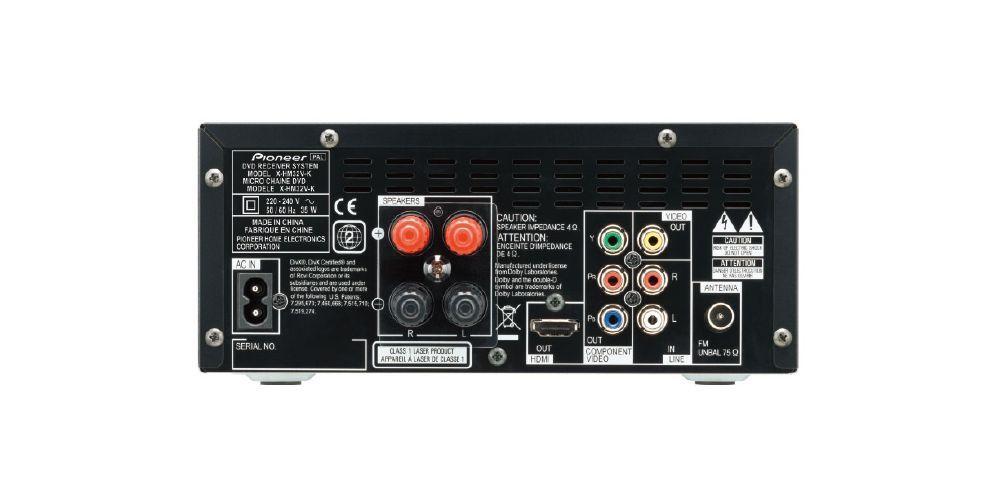 pioneer xhm32 conexiones