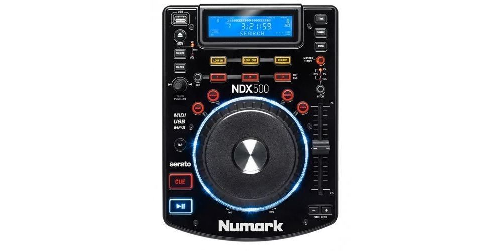 NUMARK NDX 500 Reproductor CD Dj