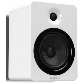 APART VINCI 5 Recinto pasivo Hi-Fi de 2 vías, 5.25″ Blanco PAREJA