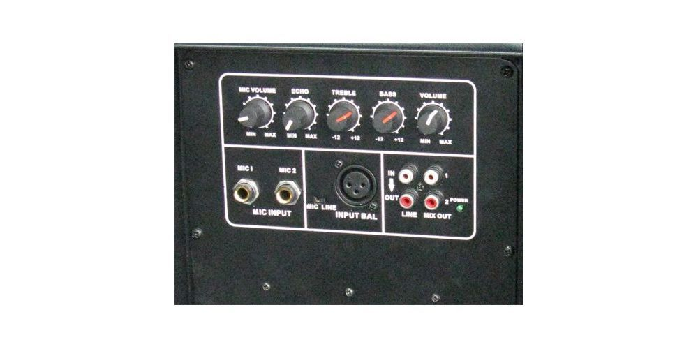 IBIZA SOUND XTK12A, Altavoz Activo 12 Pulgadas, 500 W