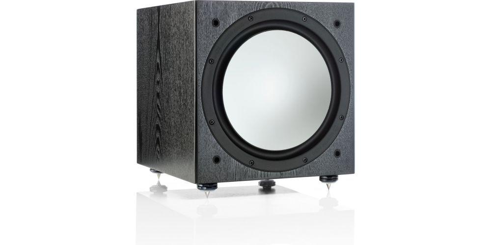 monitor audio silver w12 black