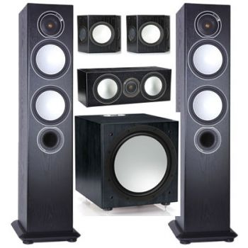 MONITOR AUDIO,SILVER 6-AV POWER-12 BK