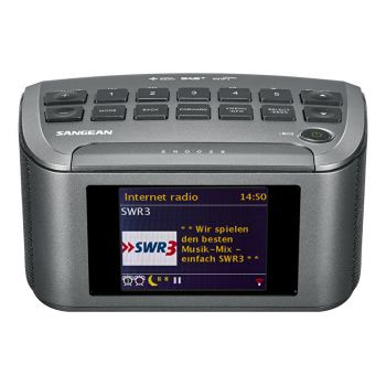 SANGEAN RCR11WF Radio Reloj internet Dab