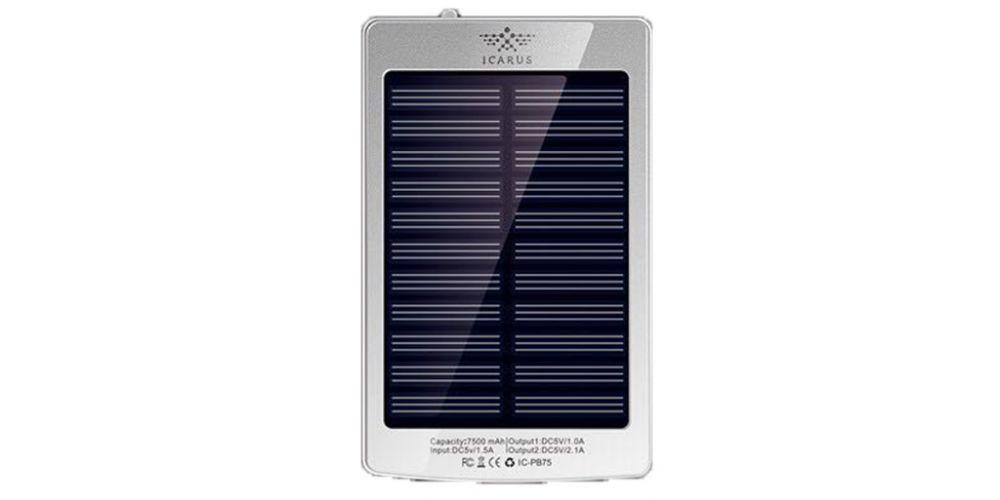 bateria solar 7500 mah