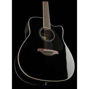 YAMAHA FGX830C BK Guitarra Electro acustica