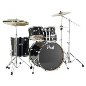 Pearl Export Lacquer Rock EXL725S Black Smoke