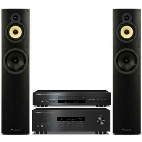yamaha rs202 bt cds300 bk wharfedale 4 3
