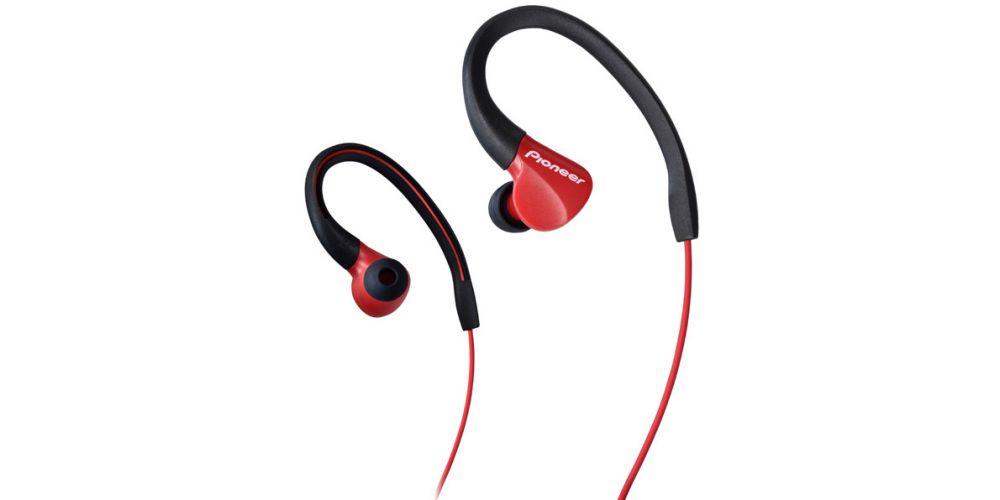 pioneer SE E3 rojo auriculares sport