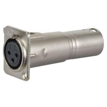 DAP Audio FLA50 Adaptador XLR Chasis Hembra / XLR Macho