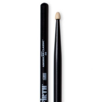 Vic Firth 5BB Hickory American Classic Black Wood Baquetas