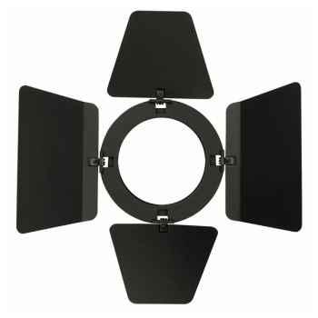 Showtec Barndoor for Compact Studio Beam Visera Negra para Foco 30687