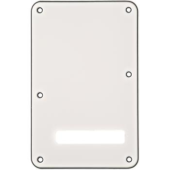 Fender Stratocaster placa trasera blanca
