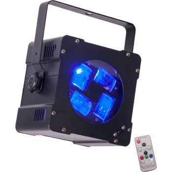 Ibiza Light HYPNO 40 Led Efecto de Iluminación Cree 4 en 1 RGBW 10W