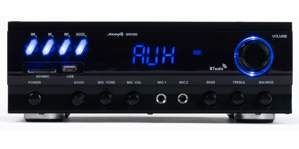 audibax zero500 amplificador bluetooth