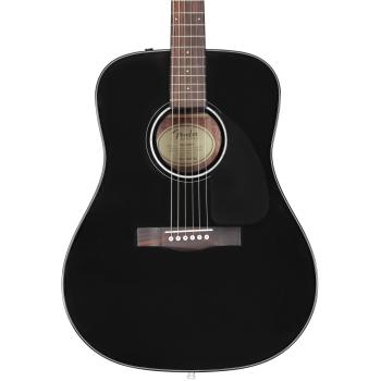 Fender CD-60 V3 Guitarra Acústica. Negra