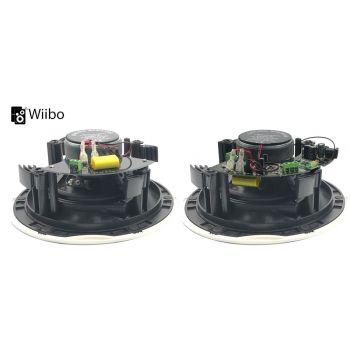 Wiibo Spirit 90 BT Altavoces Techo Blancos Bluetooth empotrables 2 Vías 5,25