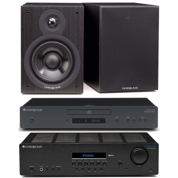 CAMBRIDGE TOPAZ SR-20+CD50+SX50 BLACK Conjunto sonido
