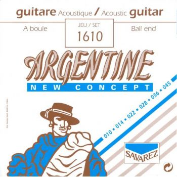 Savarez Argentine 1610 Juego Cuerdas Guitarra Acústica/Gypsy