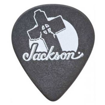 Jackson Púas 551 Thin-Medium Black Pack 12 Unidades