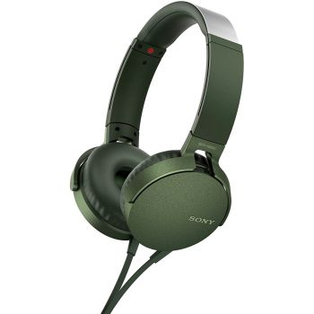 SONY MDR-XB550 APG Auricular con Micro Para Smartphone. Verde Caqui