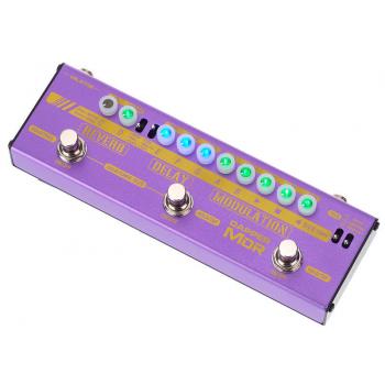 Valeton Dapper MDR Multiefectos Compacto 4-in-1 para Guitarra y Bajo Eléctrico