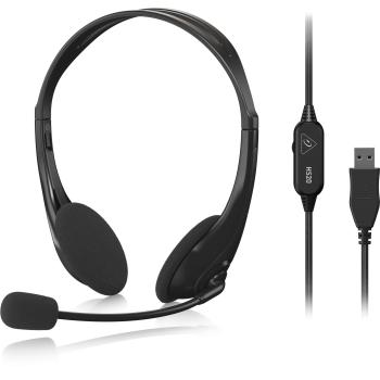 Behringer HS20 Auriculares con Microfono y Conexion USB