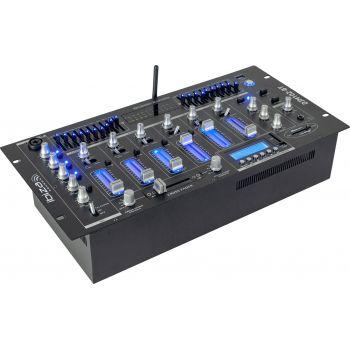 Ibiza Sound DJM102 Mezclador 6 Canales DJM102 Negro