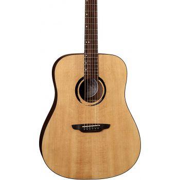 Luna Guitars Wabi Sabi Dreadnought Solid Top Guitarra Acústica