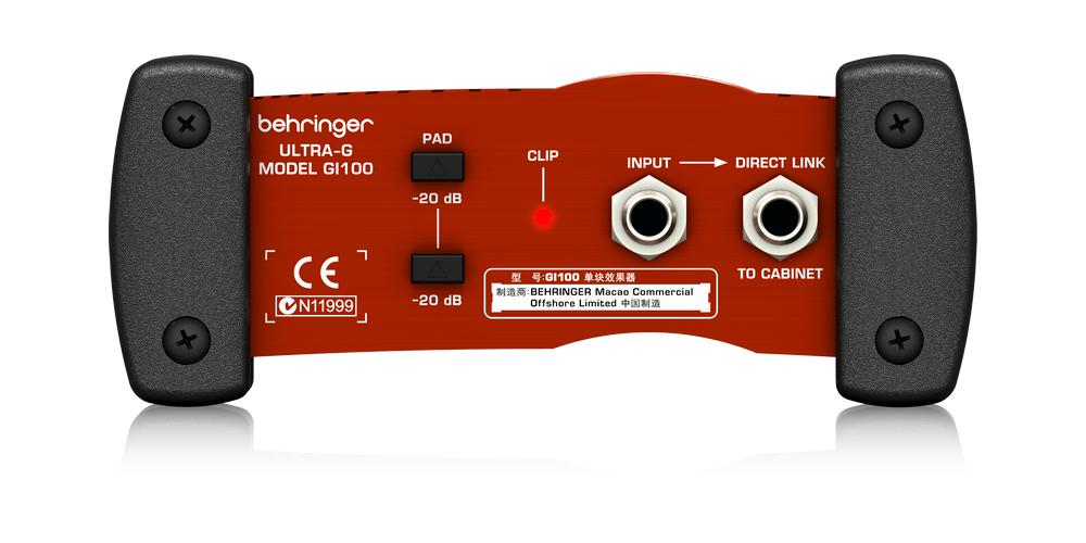 behringer GI100 conexiones