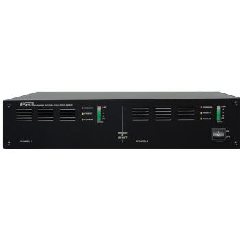APART PA-2240BP Amplificador para línea de 100V, 2 x 240 W