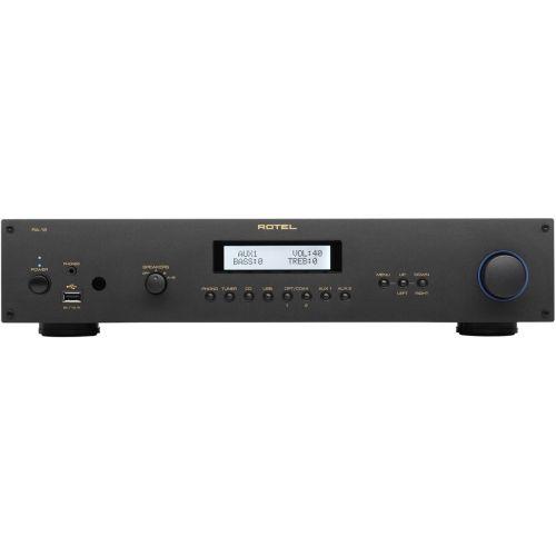 ROTEL RA-12 NEGRO Amplificador 60 + 60 w Compatible IPOD y USB