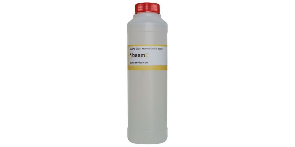 beamz 160670 liquido limpiador para mecanicas de humo