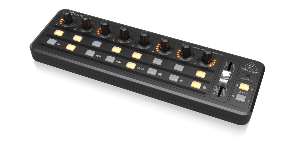 behringer X TOUCH MINI rear