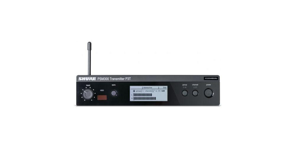 SHURE P3T Transmisor PSM inalámbrico