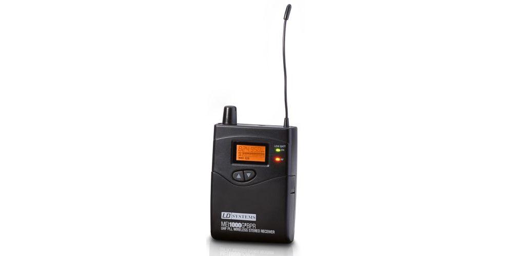 LD SYSTEMS MEI-1000G2BPR Receptor Para Sistema de Monitoraje