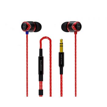 SoundMagic E10 Negro/Rojo Auriculares IN EAR
