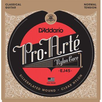 D Addario EJ45 Normal Juego Cuerdas Guitarra Clásica