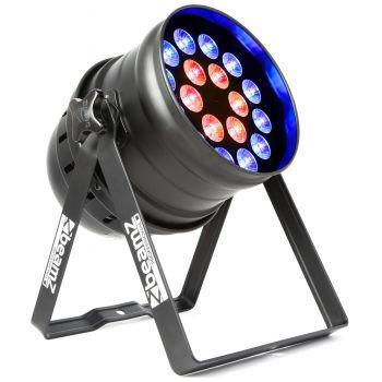 BEAMZ BPP210 LED PAR 64 18x 12W Quad RGBW IR DMX 151235