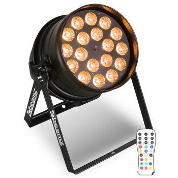 BEAMZ 151235 BPP210 LED PAR 64 18x 12W Quad RGBW IR DMX