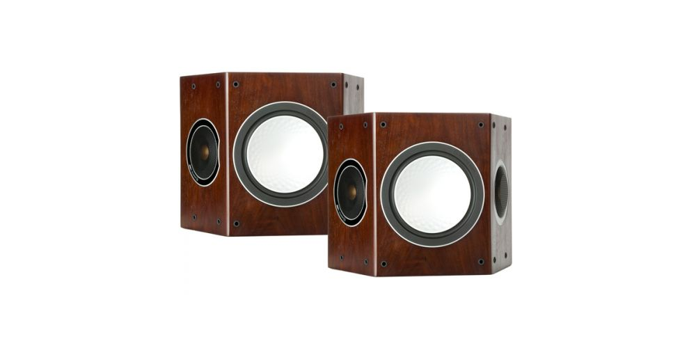 monitor audio silver fx walnut altavoz trasero